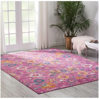 An Image of Fuchsia Passion 1 Rug Pink