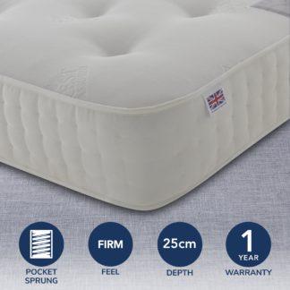 An Image of Rest Assured 1400 Pocket Orthopaedic Mattress White