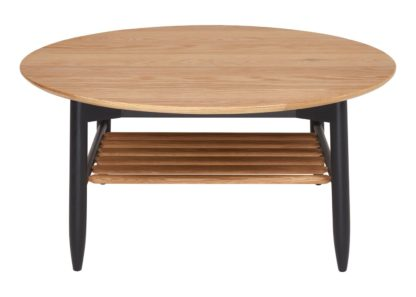 An Image of Ercol Monza Round Coffee Table