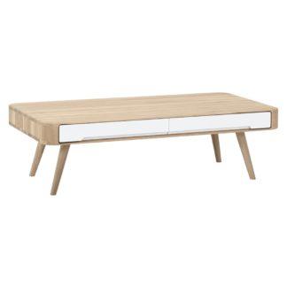 An Image of Gazzda Ena Coffee Table White 90x90x35cm