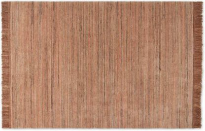 An Image of Celsi Wool Pile Rug, Large 160 x 230cm, Plaster Pink