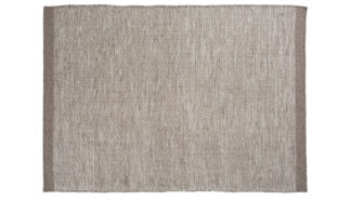 An Image of Linie Design Asko Rug 200 x 300cm Light Grey & Natural