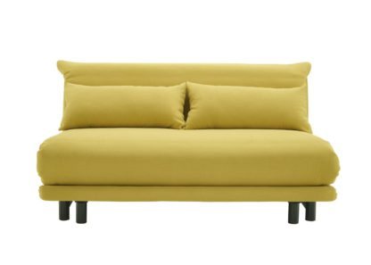 An Image of Ligne Roset Multy Premier Sofa Bed Amalfi Safran