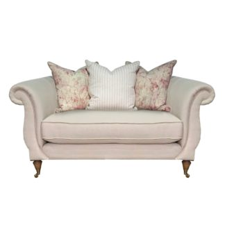 An Image of Drew Pritchard Atherton Pillow Back Snuggle Chair