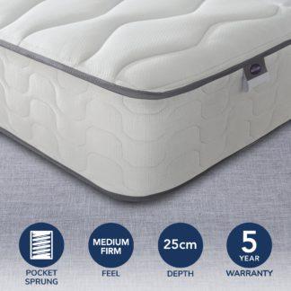 An Image of Silentnight 800 Pocket Mattress White