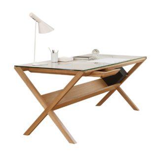 An Image of Case Covet Desk Oak