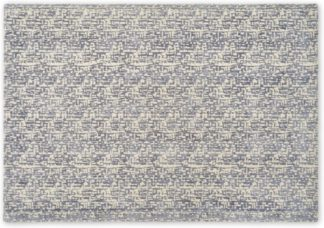 An Image of Olef Viscose Rug, Large 160 x 230cm, Slate Blue