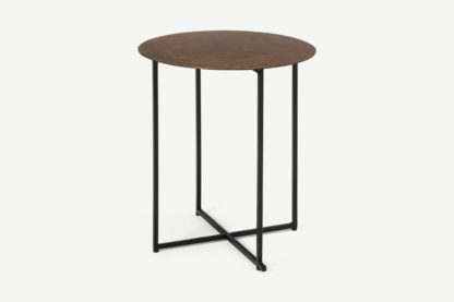 An Image of Morland Side Table, Oxidised Bronze
