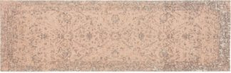 An Image of Yolanda Faded Persian Jacquard Runner 66 x 200 cm, Dusky Pink