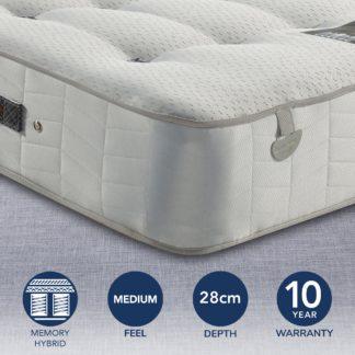 An Image of Pocketo 1000 Memory Mattress White