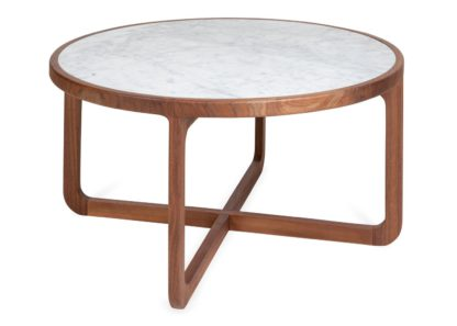 An Image of Heal's Anais Coffee Table White Marble
