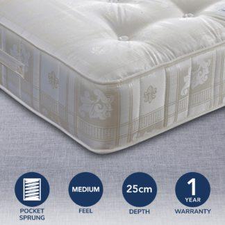An Image of Majestic 1000 Pocket Mattress White