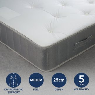 An Image of Fogarty Orthopaedic Open Coil Mattress White