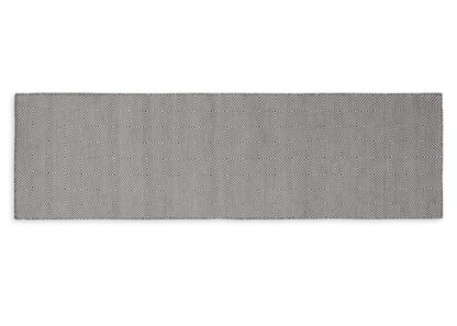 An Image of Heal's Romilly Recycled Runner Grey 70 x 230cm