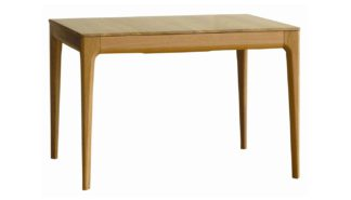 An Image of Ercol Romana Small Extending Dining Table 4-6 Seater Oak