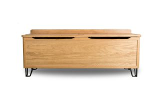An Image of Heal's Brunel Blanket Box