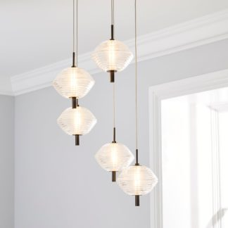 An Image of Orb LED Cluster Ceiling Fitting Chrome