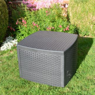 An Image of Trabella Sicily Side Table Grey