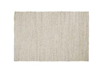 An Image of Linie Design Sirius Rug 140 x 200cm White
