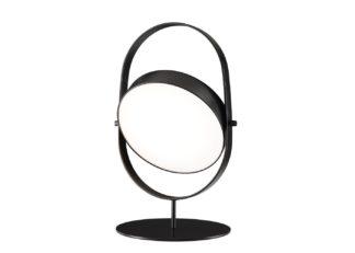 An Image of Ligne Roset Headlight Table Lamp Black
