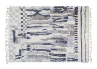 An Image of Linie Design Cello Rug Grey