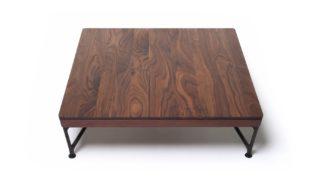 An Image of De La Espada Armstrong Coffee Table Walnut
