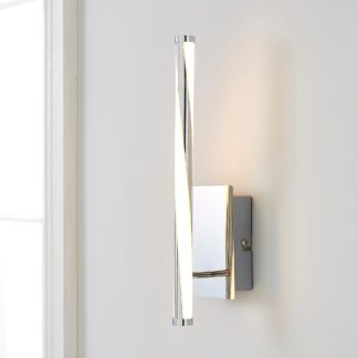An Image of Hettie Intergrated LED Wall Light Silver