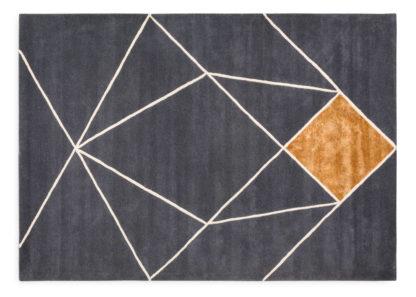 An Image of Linie Design Zoe Rug Blue