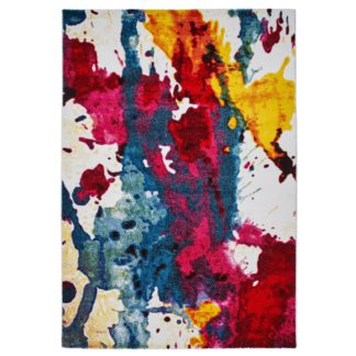 An Image of Sunrise 9349A Rug Green / Blue