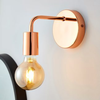 An Image of Adonis Copper Wall Light Copper