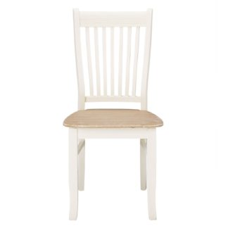 An Image of Juliette Pair of White Dining Chairs White
