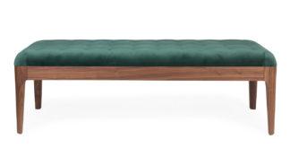 An Image of Porada Webby 1 Bench Walnut Var. 30
