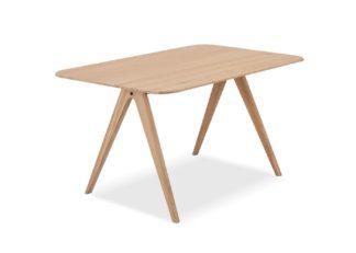 An Image of Gazzda Ava Dining Table Oak 140cm
