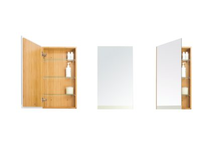 An Image of Wireworks Arena Bamboo Single Cabinet