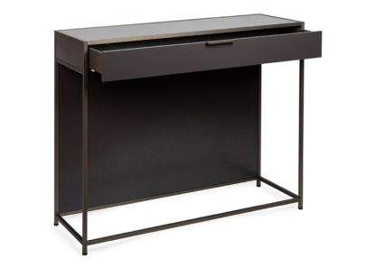 An Image of Ligne Roset Dita Console Plomb Lacquer