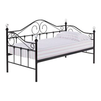 An Image of Florence Day Bed Black