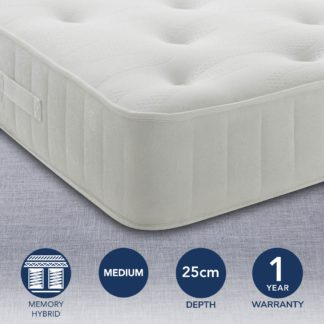 An Image of Maestro Memory Foam Mattress White