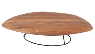 An Image of Ligne Roset Pebble Convex Low Table