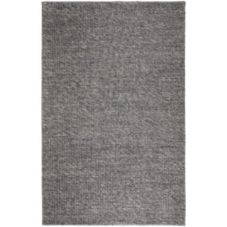 An Image of Camden Wool Blend Rug Charcoal