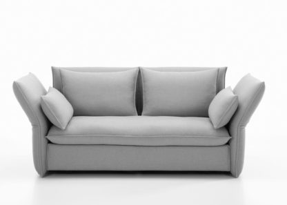 An Image of Vitra Mariposa 2-Seater Sofa Dumet Pebble