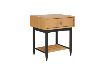 An Image of Ercol Monza 1 Drawer Bedside Cabinet
