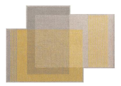 An Image of Gandia Blasco Canevas Geo Rug Grey 170 x 240cm