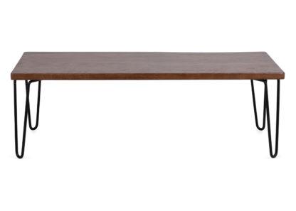 An Image of Heal's Brunel Coffee Table / AV Unit Dark Wood