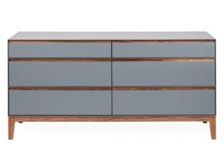 An Image of Heal's Lars 6 Drawer Chest Wide