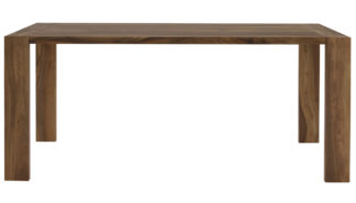 An Image of Ligne Roset Eaton Dining Table Walnut 180x90x76cm