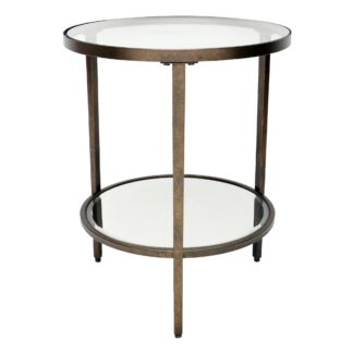 An Image of Caprice Side Table Brass