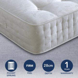 An Image of Ambassador 3000 Pocket Mattress White