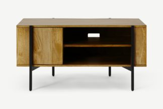 An Image of Morland Compact TV Unit, Light Mango Wood