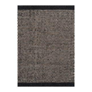 An Image of Linie Design Asko Rug Black 250 x 350cm