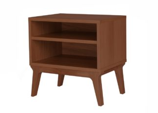 An Image of Case Valentine Bedside Table Stained Walnut